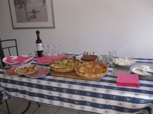 French birthday party!