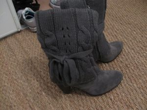 Impractical (but warm!) boots